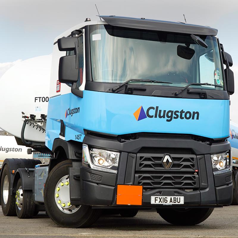 clugston distribution truck