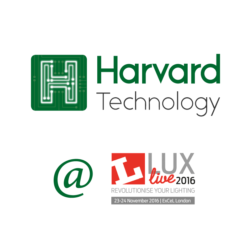 Harvard at Lux logo