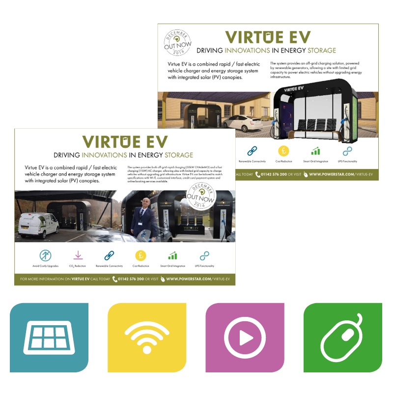 Virtue EV ads