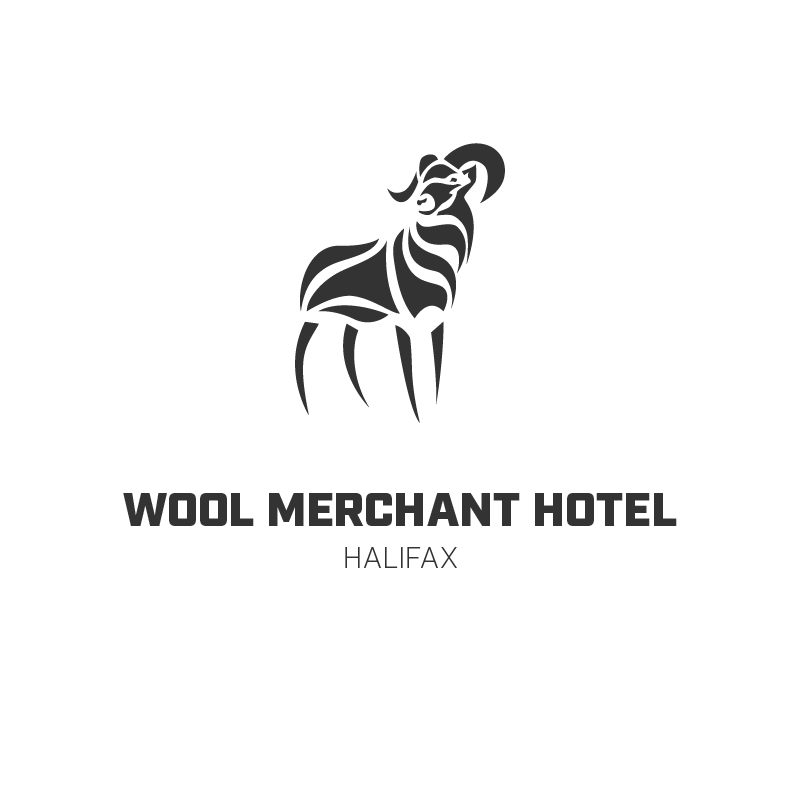 wool merchant logo