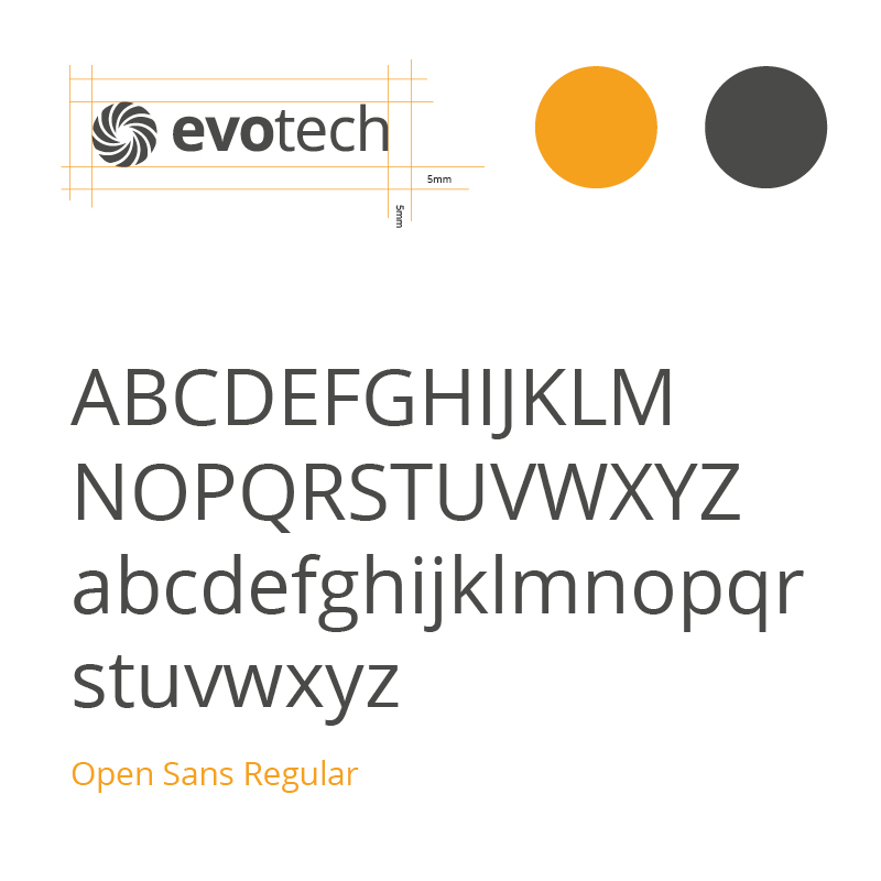 evotech brand guidelines