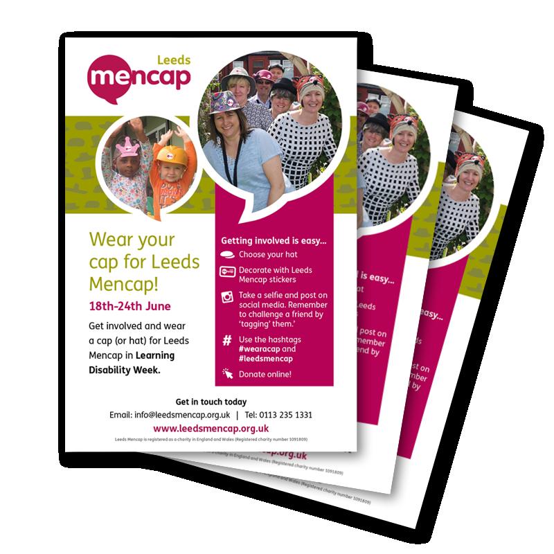 shrewdd marketing - Mencap flyers
